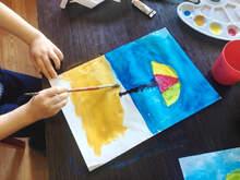 Técnicas básicas para pintar con acuarela (Club Pinitos)