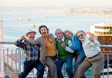 Celebración del mes del adulto mayor con Vida en Plenitud