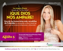 Invitacion Luz Amparo Alvarez
