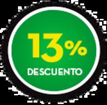 Botón 13%