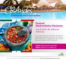 Comida Mexicana Club Andes