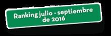 47271 Ranking julio - septiembre de 2016