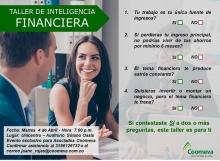 Invitación Taller Inteligencia Financiera 2
