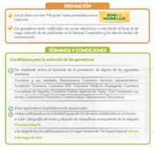 52601 TERMINOS Y Condiciones FECHA
