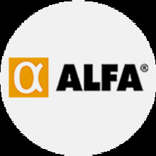 53253 Logo Alfa - Gris