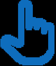 56390 MP - Lupa Azul - Mano Azul