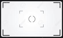 18711204-viseur-de-la-caméra-avec-l-exposition-et-réglages-de-l-appareil-