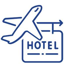 ticket + hotel