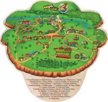 Destacado mapa guía