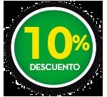 10% DE DCTO.