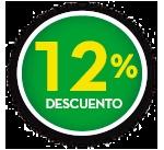 12% DE DCTO.