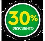 30% DE DCTO.