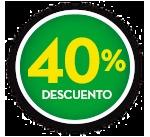 40% DE DCTO.