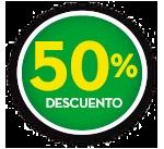 50% DE DCTO.