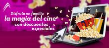 Encabezado principal Cine Colombia