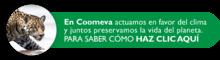 En Coomeva actuamos en favor del clima y juntos preservamos la vida del planeta.  PARA SABER CÓMO HAZ CLICK AQUÍ