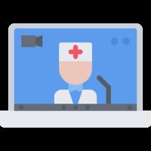 Video consulta con médico en español