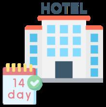 Gastos de hotel por convalecencia o cuarentena