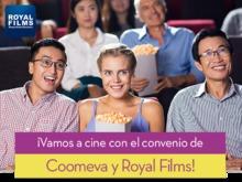 Imagen principal convenio Royal Films