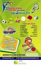 Afiche Olimpiada Deportiva