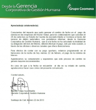 Comunicado Manuel ISSA