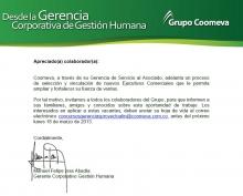 Comunicado ISSA - Medellín