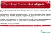 Correo de RSE Bancoomeva