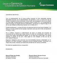 comisiones Manuel ISSA - Ricardo Serrano