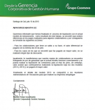 Pago comisiones julio 2013