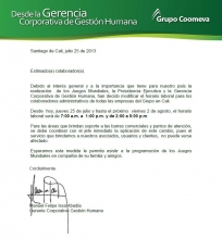 Cambio Horario Cali Juegos Mundiales - Manuel Issa