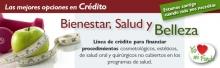 Banner Crédito salud y belleza