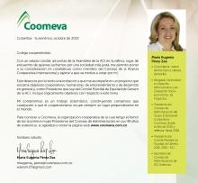 Carta Candidatura María Eugenia Pérez 2013