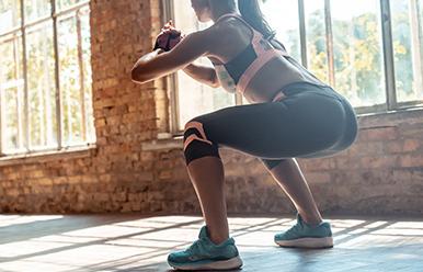 Clase de ejercicio funcional con la Coach Paula Bedón