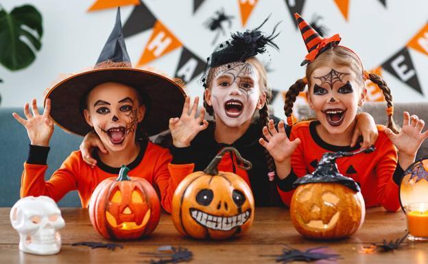 Actividad celebración para los niños Halloween