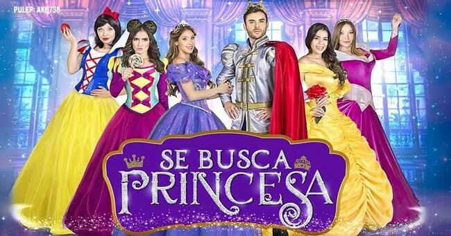 Obra de teatro infantil Se Busca Princesa