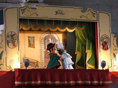 Obra de títeres: Un día especial en el castillo